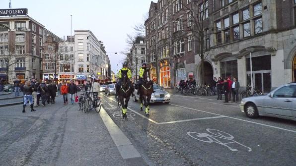 Amsterdam, politia calare