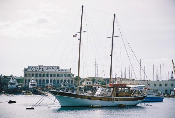 o barca frumoasa in Malta